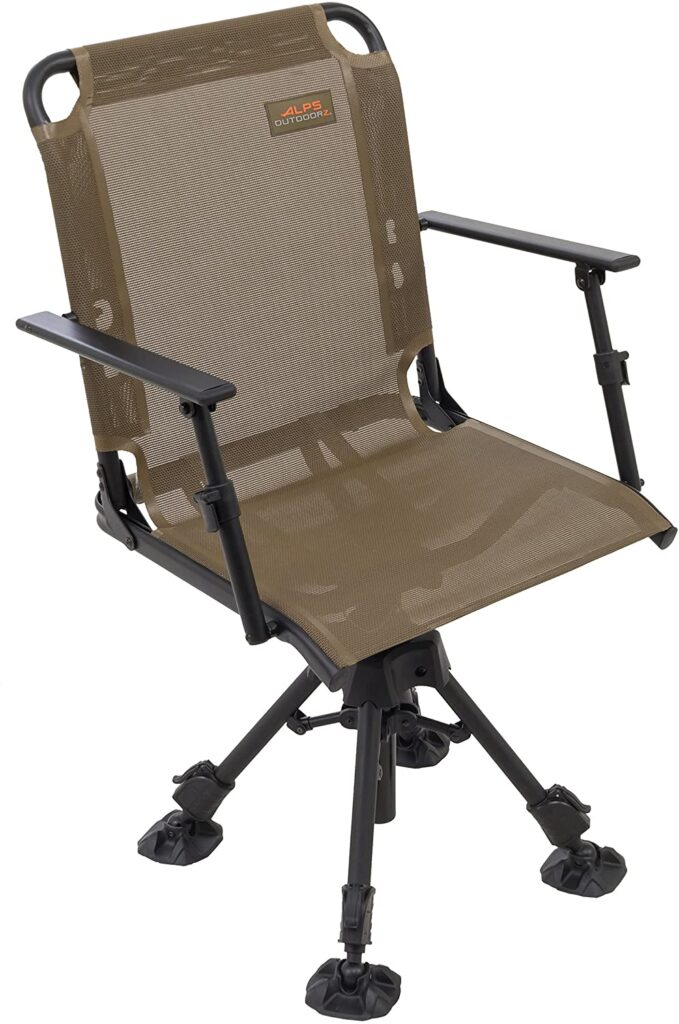 hunting chair that doesn't make noise