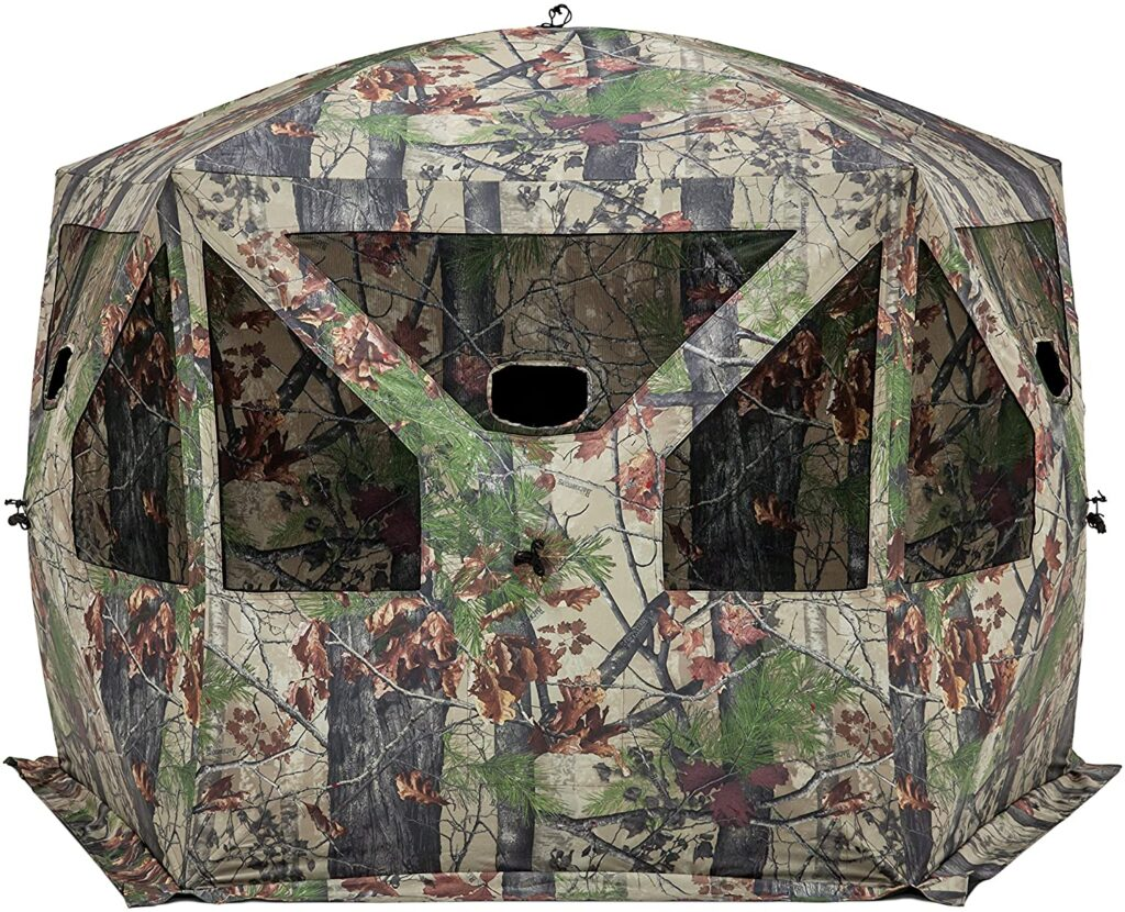best 4 person hunting blind
