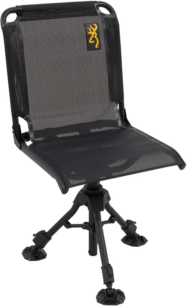 Browning swivel chair for hunting