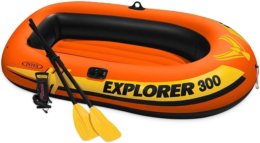 Intex Explorer inflatable boat