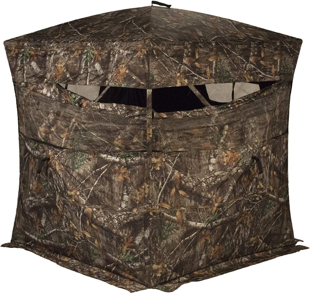 Rhino blinds 3 person ground blind