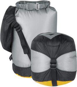 Sea to Summit dry bag for kayaking