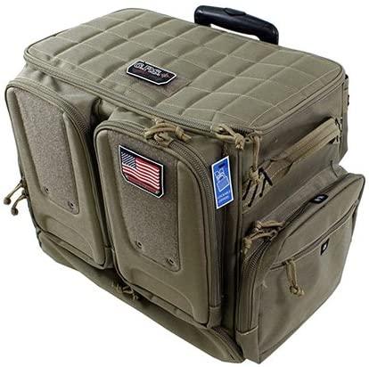rolling gun range bag