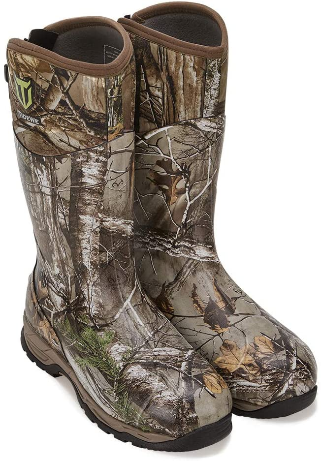 insulated waterproof hunting rubber boots
