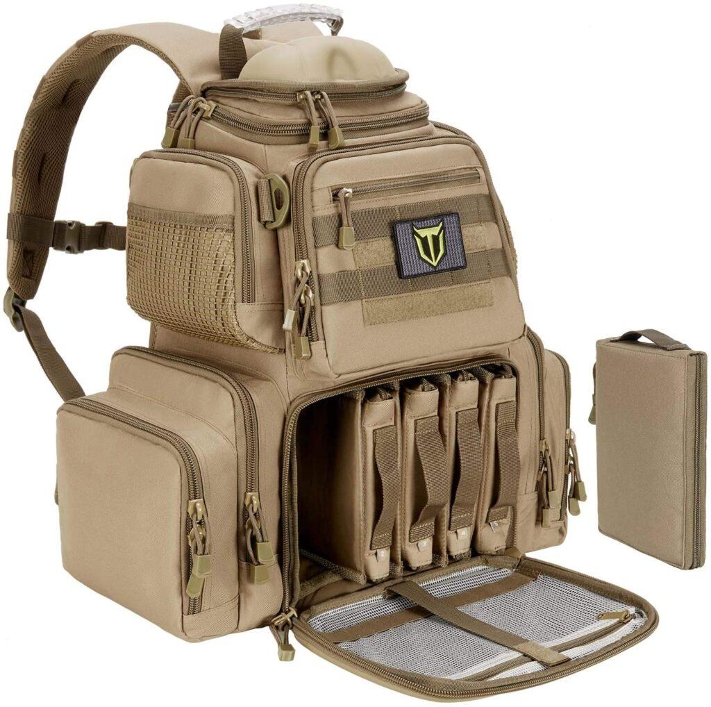 shooting range backpack