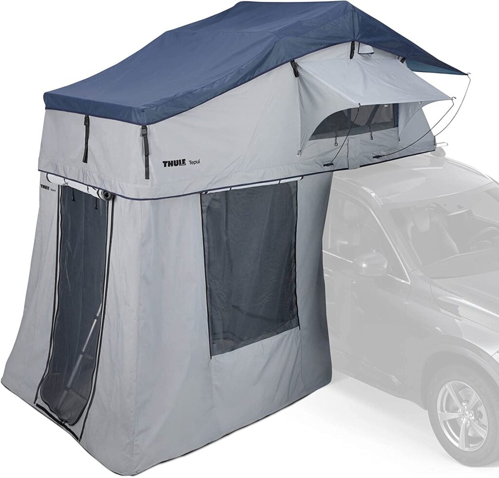 rooftop tent with annex