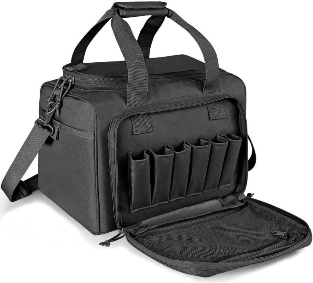 gun range bag for pistols