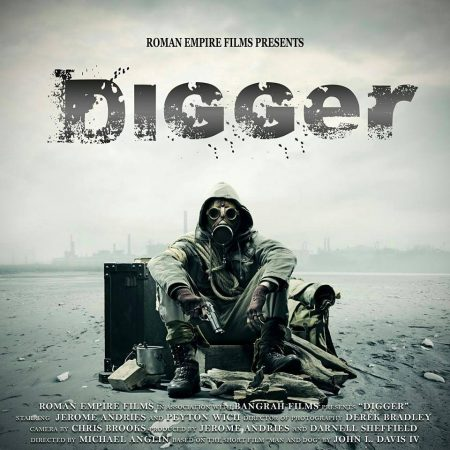 Digger a post apocalyptic short story created by Jerome Andries