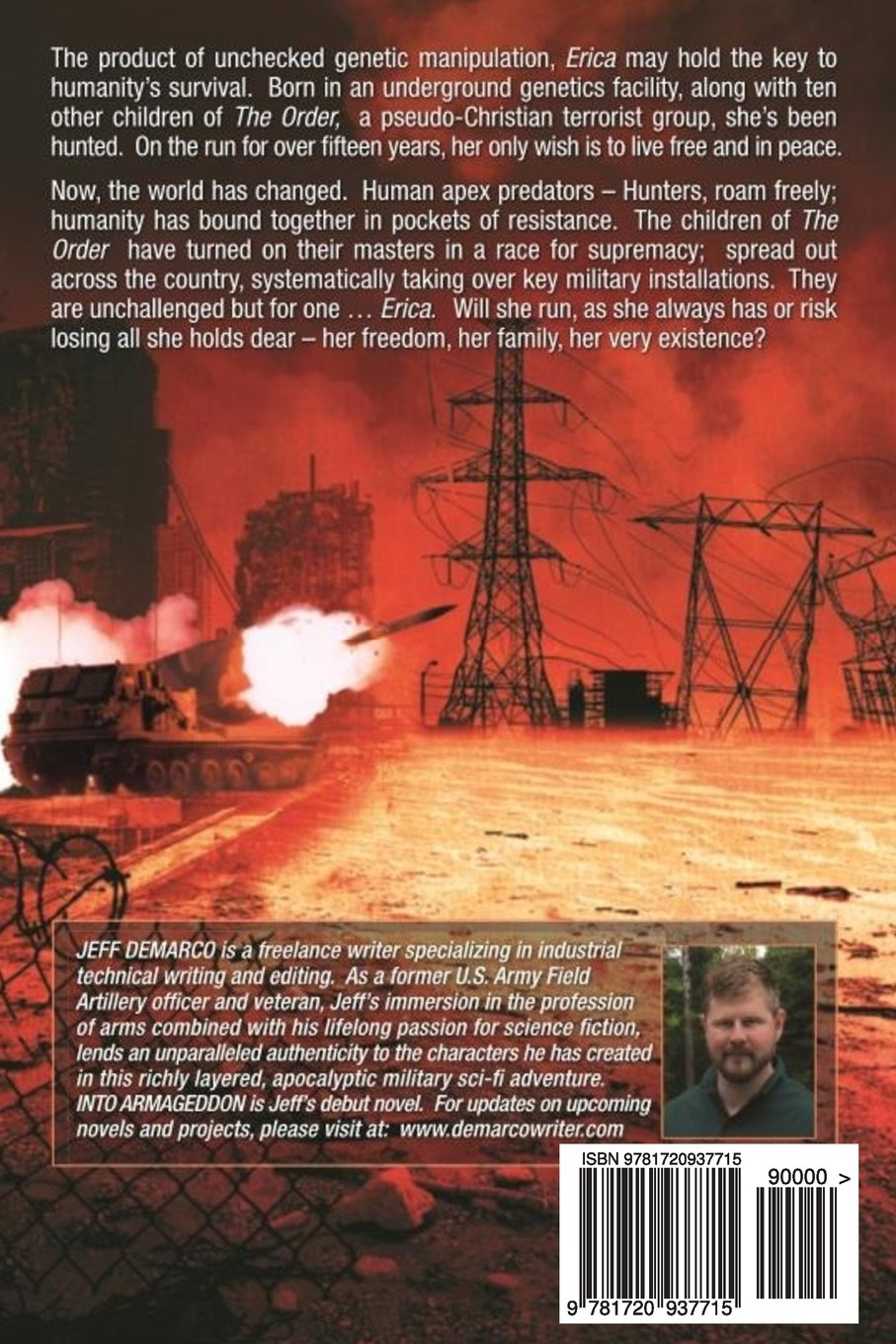 end of the world fiction by jeff demarco