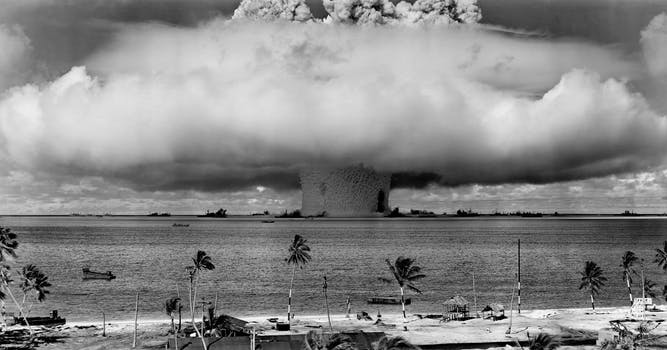 Nuclear weapons end of the world
