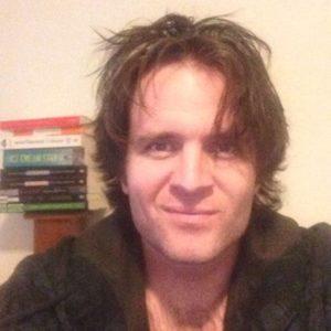 post-apocalyptic, zombie, author