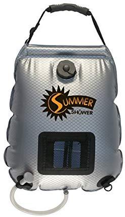 best solar shower
