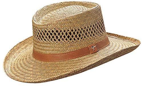 best gambler straw hat