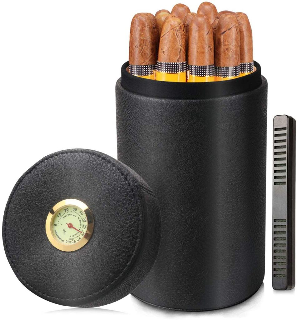 best portable cigar humidor travel case for under $25