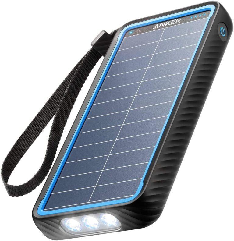 solar power bank Anker