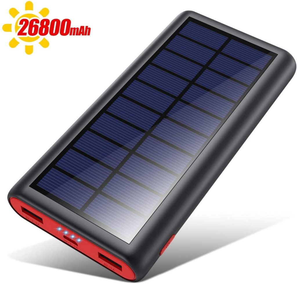 best solar power bank for hiking