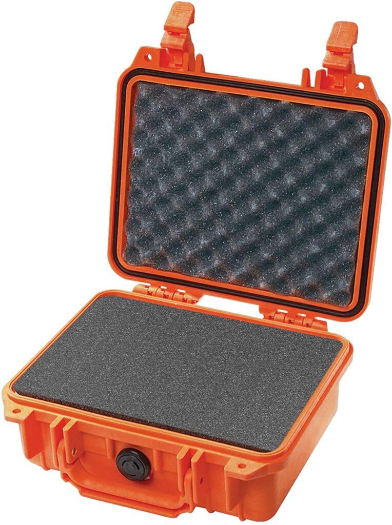 hard camera case with customizable foam