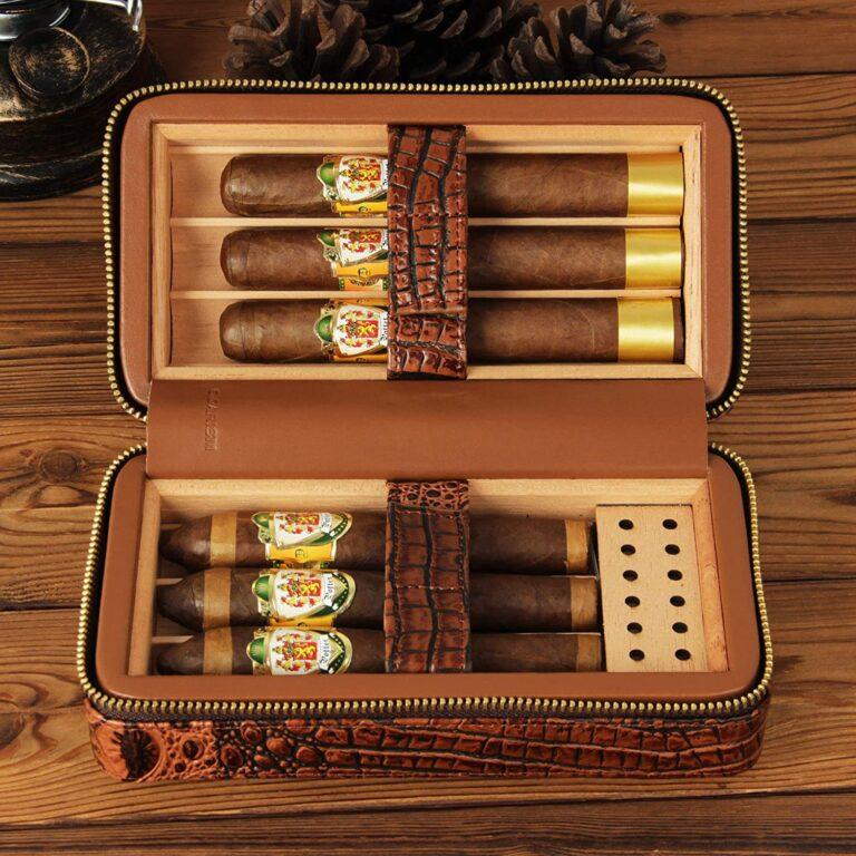 cigar humidor for travel