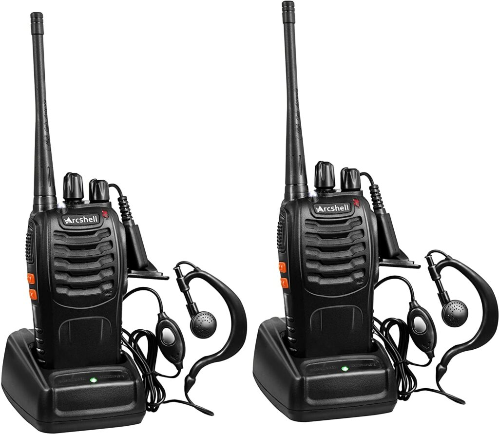 best two way radio with earpiece