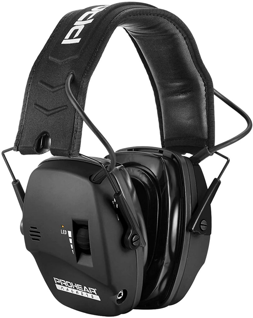 best electronic shooting earmuffs with gel ear pads