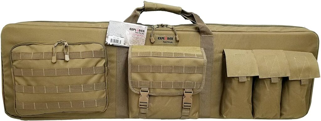 best soft rifle case that holds pistols