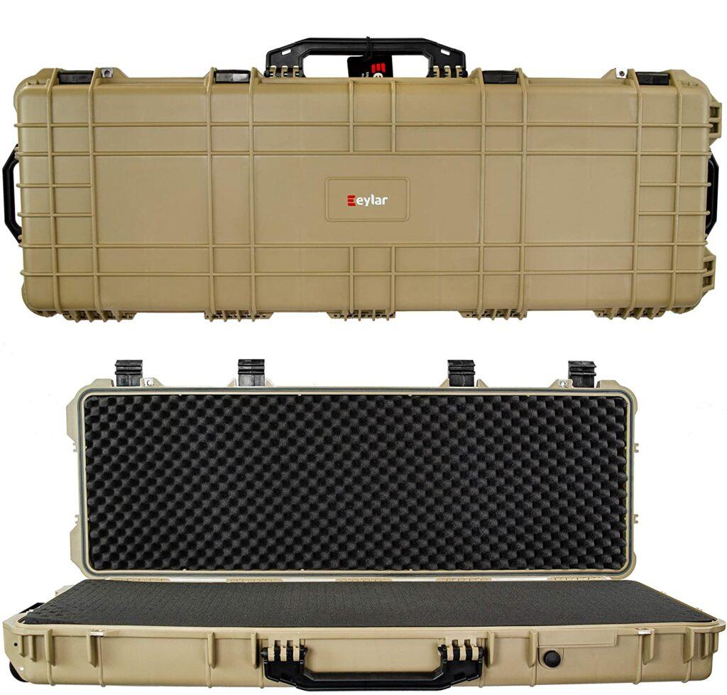 best 2 gun hard rifle case