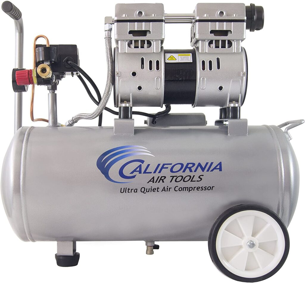 best quiet air compressor with wheels