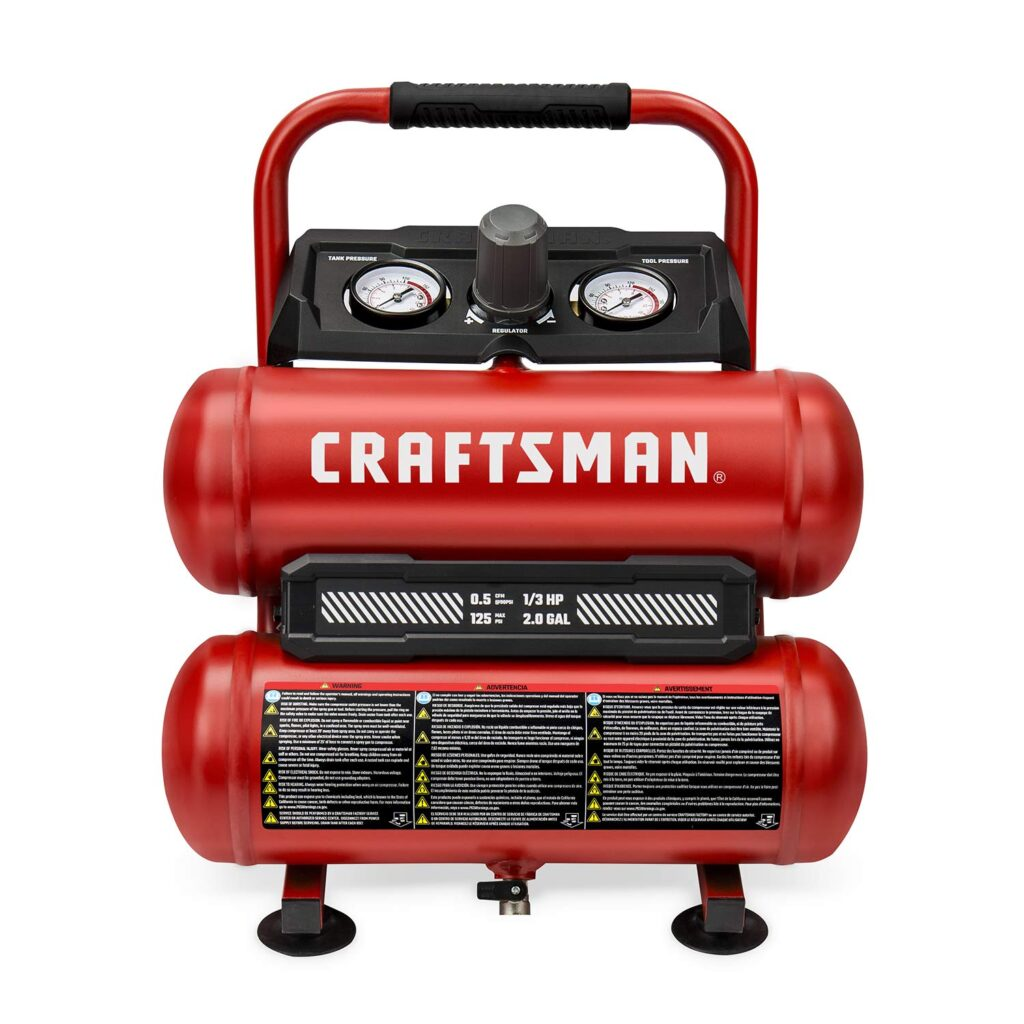 best twin tank portable air compressor