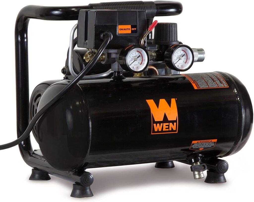 best oil free portable air compressor